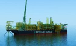 SHI Lays Keel for Petronas Floating LNG2
